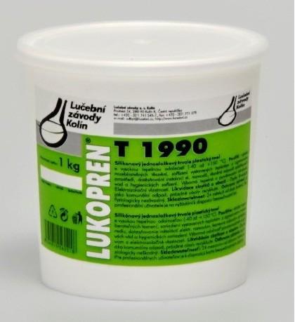 LUKOPREN T1990 plastický silikonový tmel 200 g, šedá