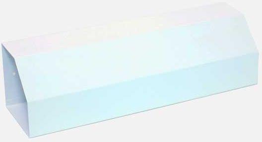 MARS - schránka na noviny pozinkovaný plech 6316 - bílá 6316B