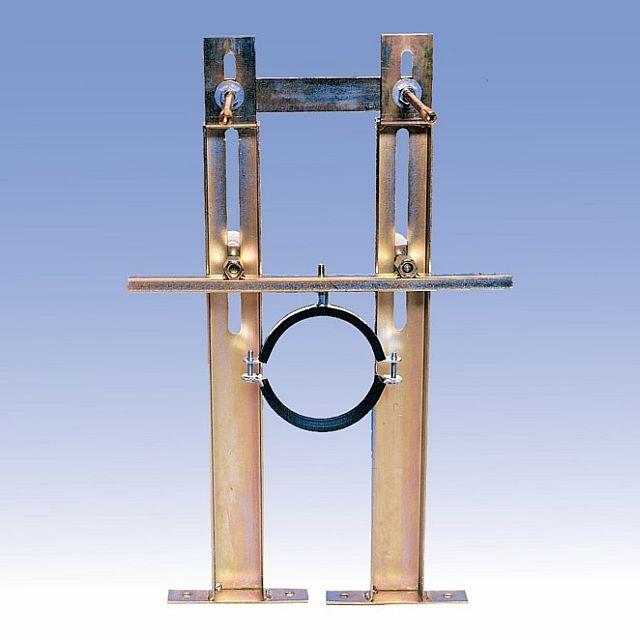 SANELA Rám SLR 03Z pro zděné příčky, závěsná WC se splachovačem SLW 01NK 08033