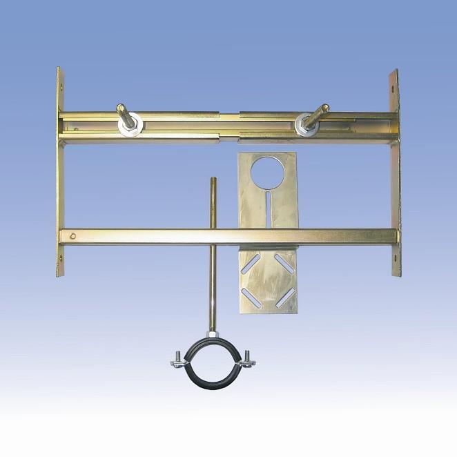 SANELA Rám do sádrokartonu SLR 01L pro pisoár s radarovým splachovačem na liště 08015