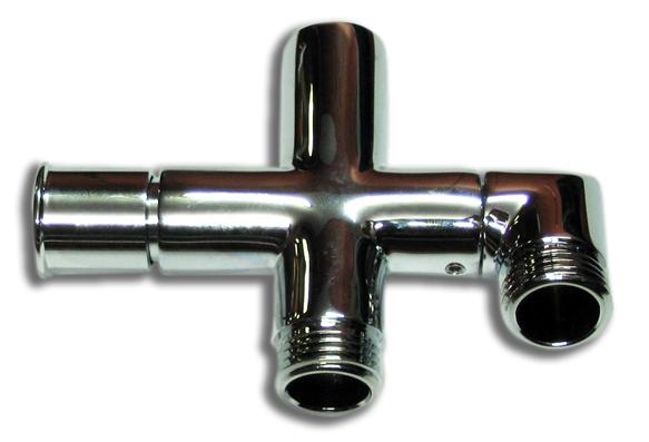 NOVASERVIS přepínač sprchového setu 060/1 chrom PR/SET060/1