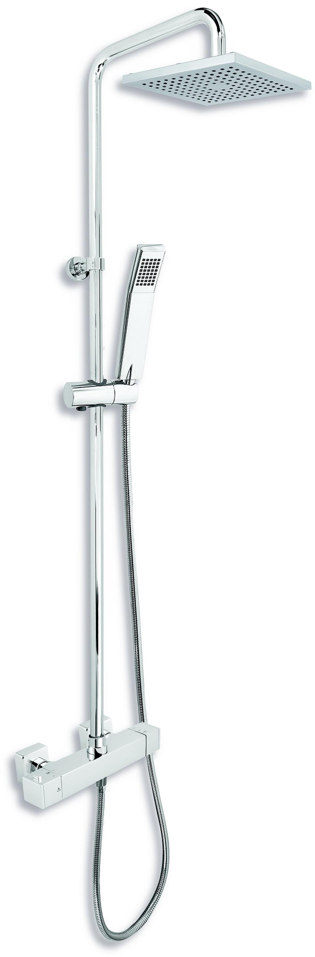 NOVASERVIS Sprchová souprava včetně termostatické baterie SADA2862