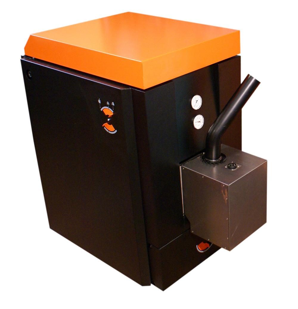 Kotel OPOP H 416 EKO s hořákem 20 kW na pelety, dřevo i hnědé uhlí