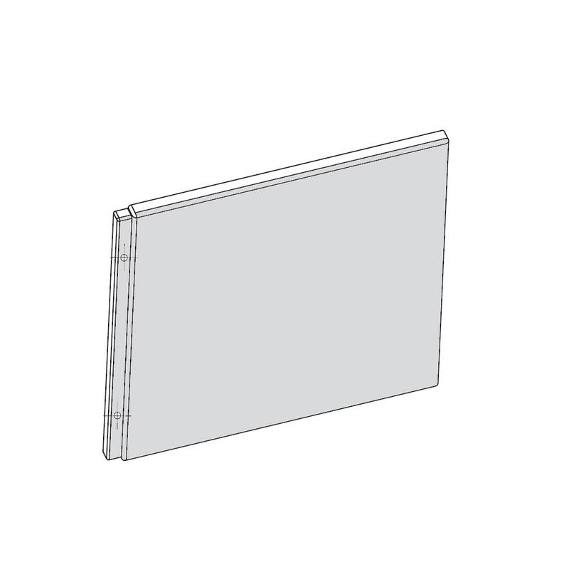 RAVAK CHROME Panel A boční 70 snowwhite CZ72110A00