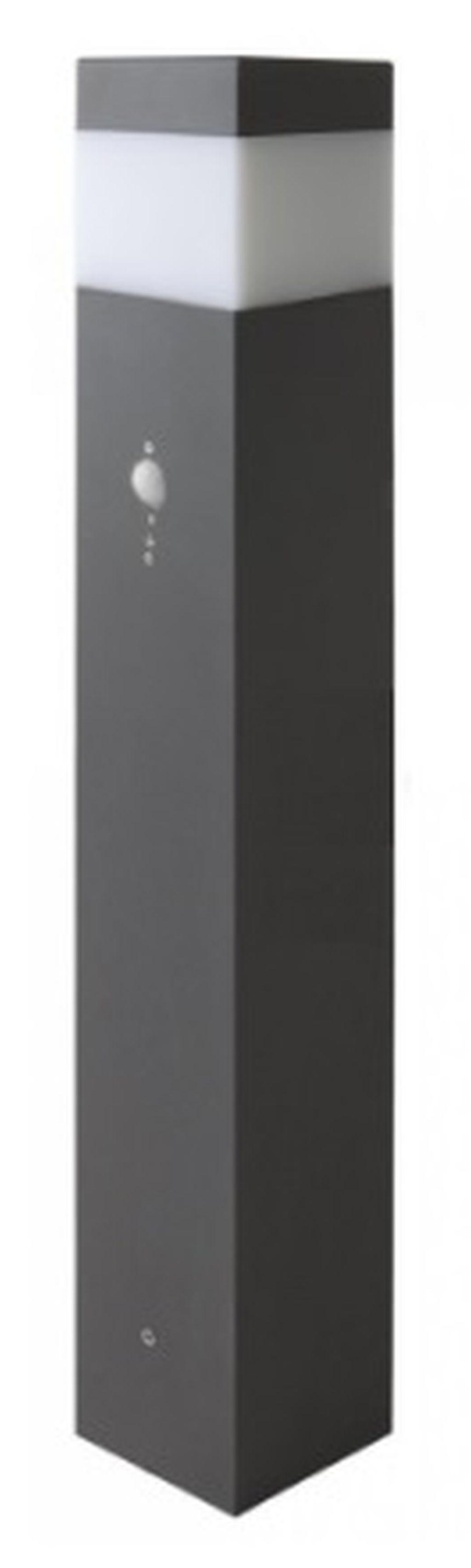 PANLUX GARD 76 zahradní svítidlo se senzorem, šedá VOS-E14