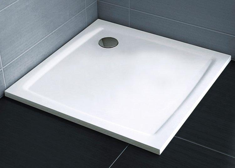 RAVAK PERSEUS PRO 90 FLAT čtvercová sprchová vanička čtvercová 90x90 cm XA037711010