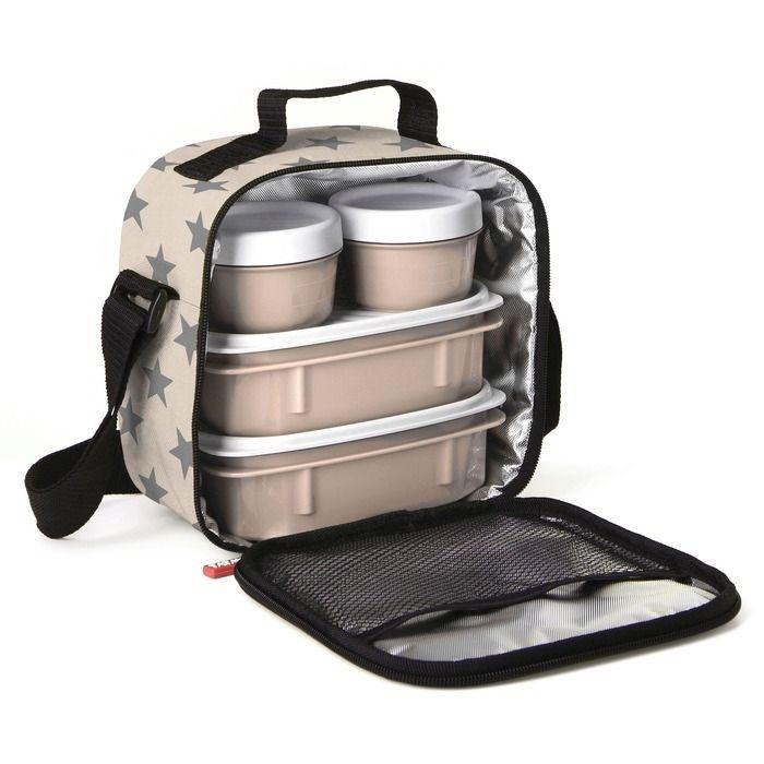 PLASTICOS TA-TAY set termo tašky a 4 plastových dóz 1167506