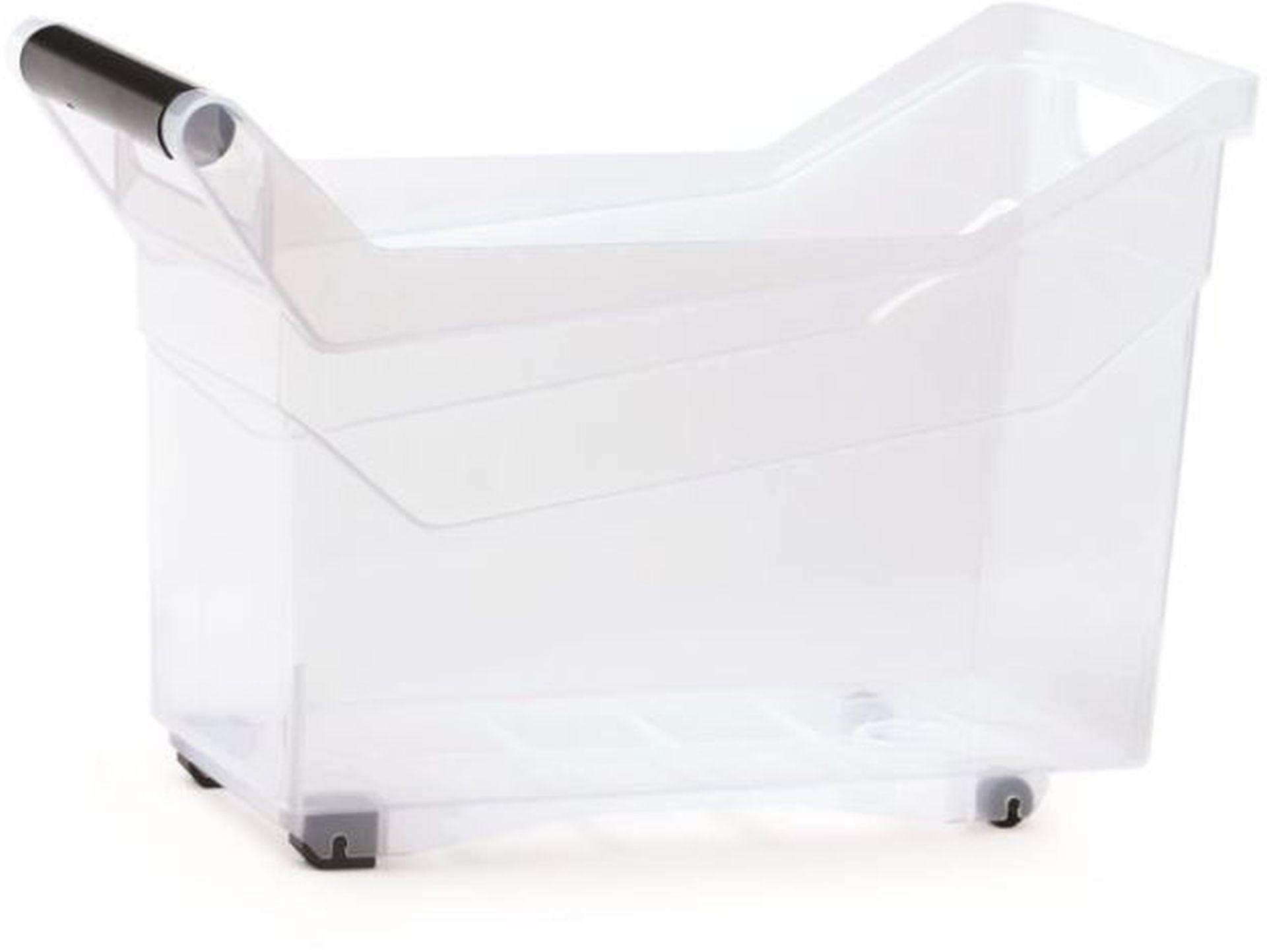 Prosperplast NUK Plastový box úložný, 380 x 177 x 256 mm NUK3H