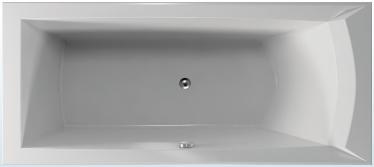 TEIKO Vana Porta 170 L obdélníková 170 x 76 cm, akrylátová, bílá, levá V112170L04T01001