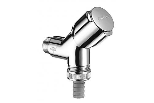 "SCHELL COMFORT Šikmý přístrojový (pračkový) ventil, chrom 1/2""x3/4"" 033860699"