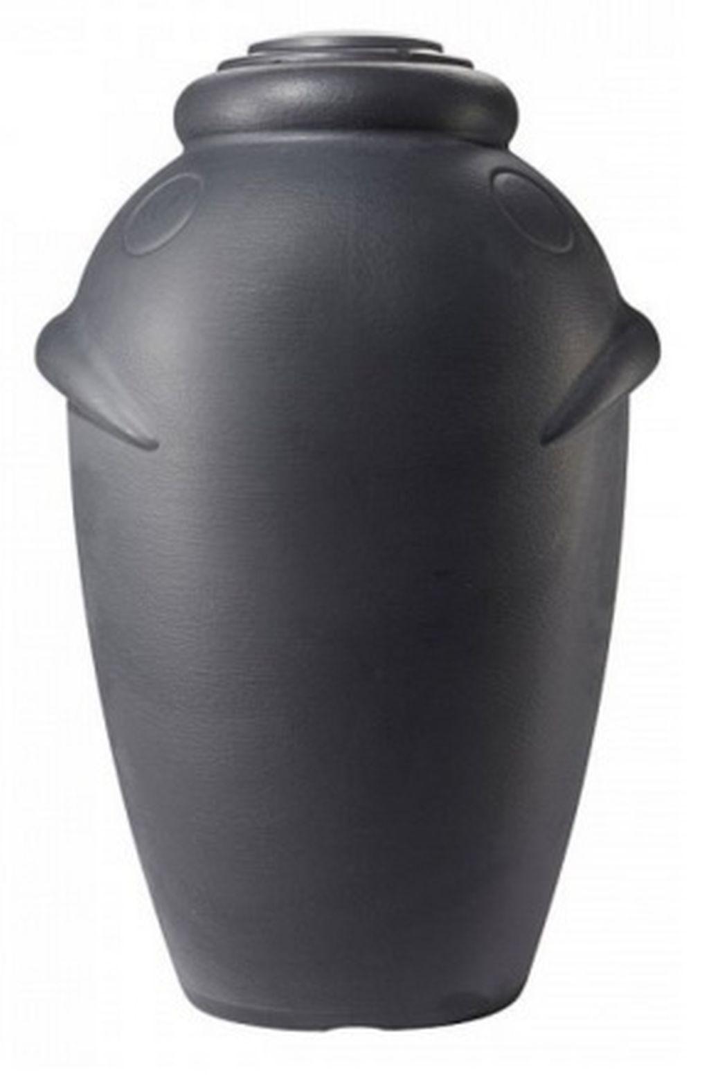 VÝPRODEJ AQUACAN nádoba- sud na dešťovou vodu 360 l, grafit ICAN360 BEZ VÍKA