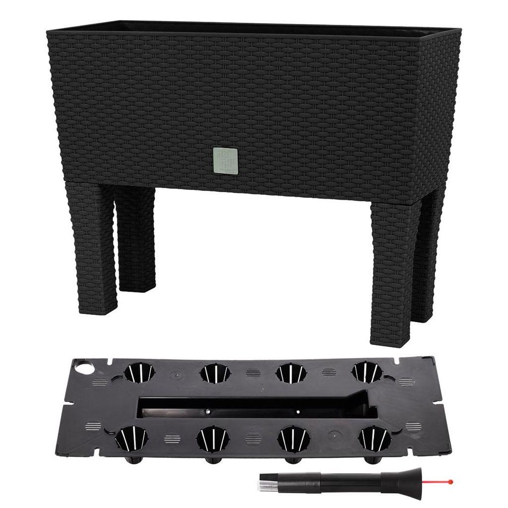 Prosperplast RATO CASE HIGH Truhlík+zavlažovací systém 80x33x65cm antracit DRTC800H