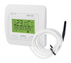 ELEKTROBOCK PT713-EI - Inteligentní termostat pro podlah.topení+čidlo podlahy