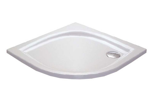 RAVAK GALAXY ELIPSO 90 LA čtvrtkruhová sprchová vanička 90x90 cm A227701210