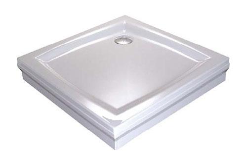 RAVAK GALAXY PERSEUS 90 PP čtvercová sprchová vanička 90x90 cm A027701510