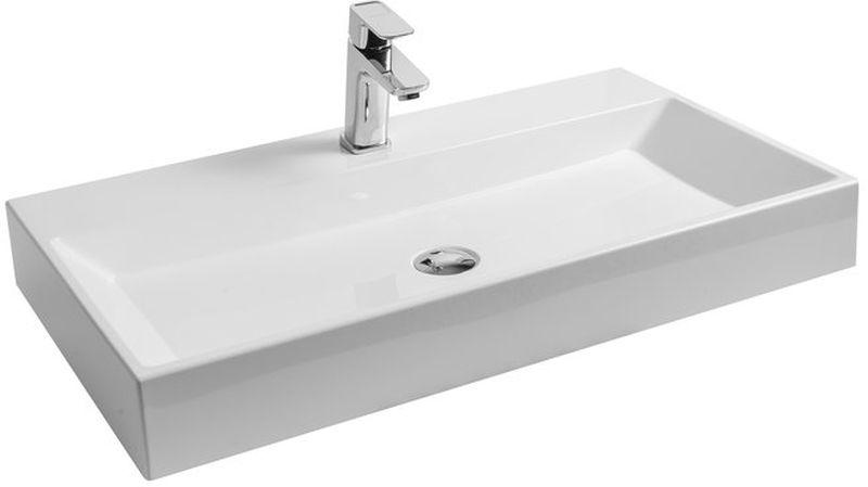 RAVAK Natural 800 Umyvadlo 80 x 45 cm, bílé XJO01280000