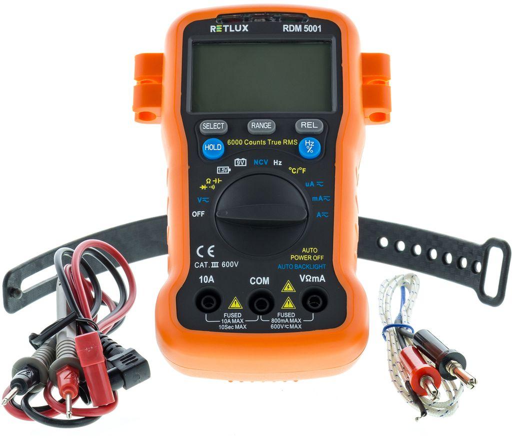 RETLUX RDM 5001 Digitální multimetr 50002705