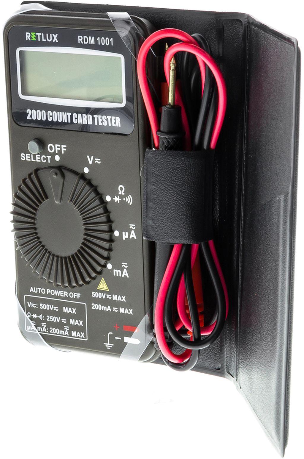 RETLUX RDM 1001 Digitální multimetr 50002706