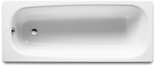 Roca Continental litinová vana 120 x 70 cm, 117l bílá 7211506001