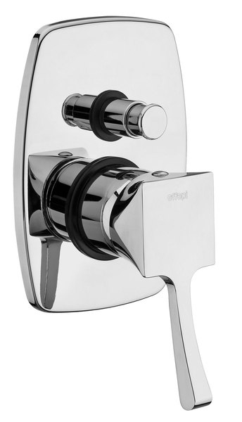 SAPHO CHIC podomítková sprchová baterie, 2 výstupy, bronz 42188-06