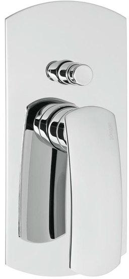 SAPHO FLO podomítková sprchová baterie, 2 výstupy, chrom 7188
