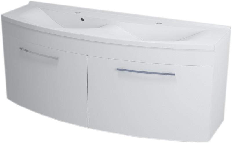 SAPHO JULIE 59150 umyvadlová skříňka 150x60x50cm, bílá