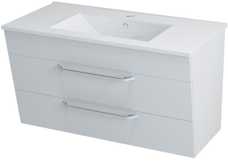 SAPHO KALI 56091 umyvadlová skříňka 89x50x45cm, bílá