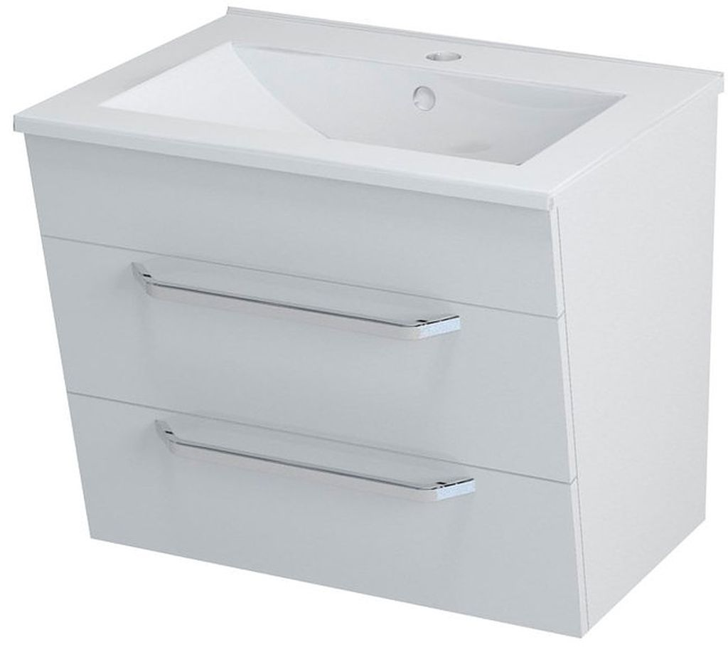 SAPHO KALI 56062 umyvadlová skříňka 59x50x45cm, bílá