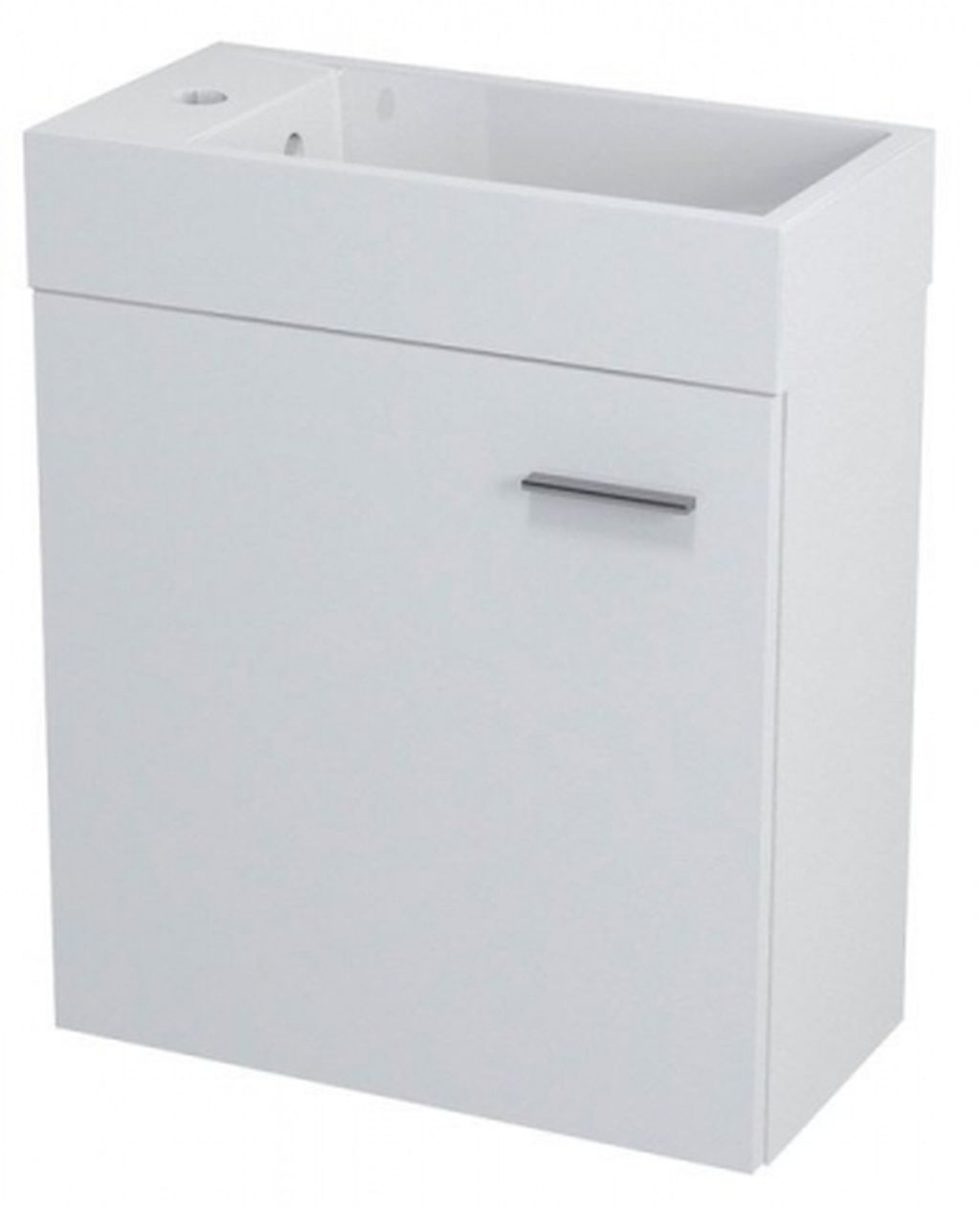 SAPHO LATUS IV umyvadlová skříňka 49,5x50x25cm, bílá 55570