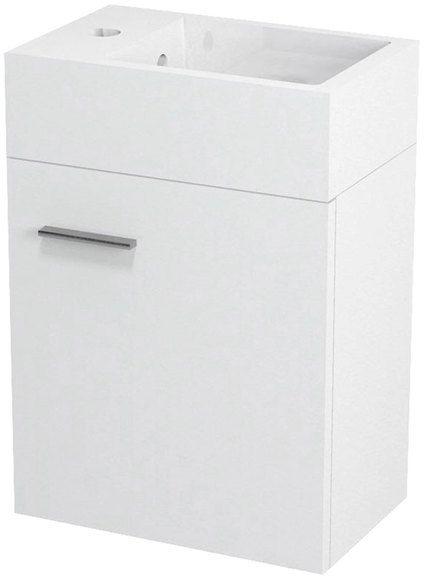 SAPHO LATUS V umyvadlová skříňka 36x40x23cm, bílá LT056