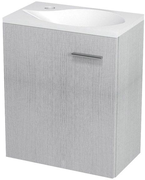 SAPHO LATUS II umyvadlová skříňka 42x50x25 cm, dub stříbrný LT210