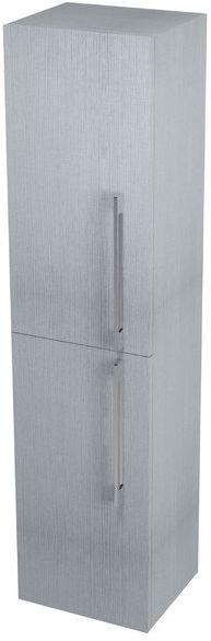 SAPHO MARIOKA II vysoká skříňka s košem 35x140x30cm, levá, dub stříbrný MK710L