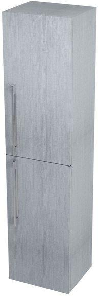 SAPHO MARIOKA II vysoká skříňka s košem 35x140x30cm, pravá, dub stříbrný MK810P