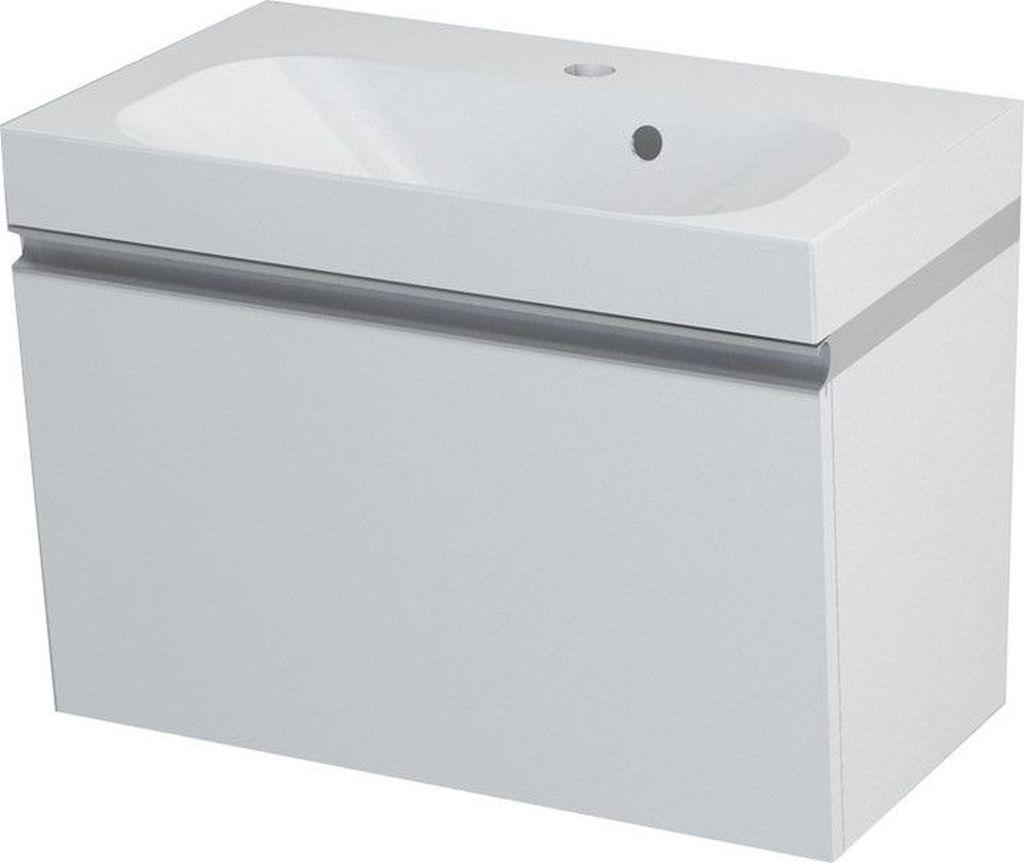 SAPHO MELODY 56050 umyvadlová skříňka 50x38x34cm, bílá