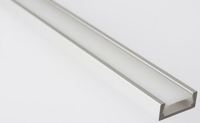 SAPHO LED U profil 15,2x6mm, eloxovaný hliník, 1m KL1888-1
