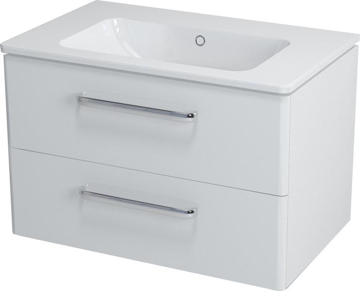 SAPHO PURA umyvadlová skříňka 77x50,5x49cm, bílá PR081