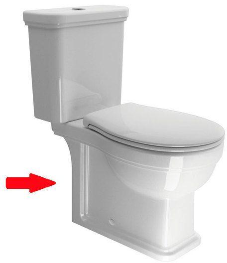 SAPHO CLASSIC WC mísa kombi spodní/zadní odpad 871711