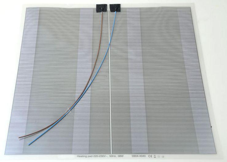 SAPHO Elektrická topná folie pod zrcadlo 36W, 40x40 cm MTF14