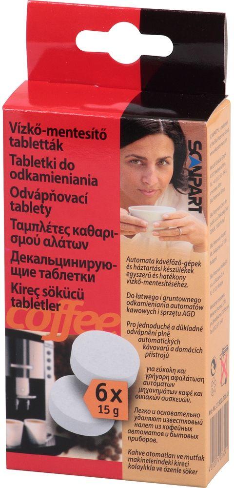 SCANPART Odvápňovací tablety 6 ks 40032400