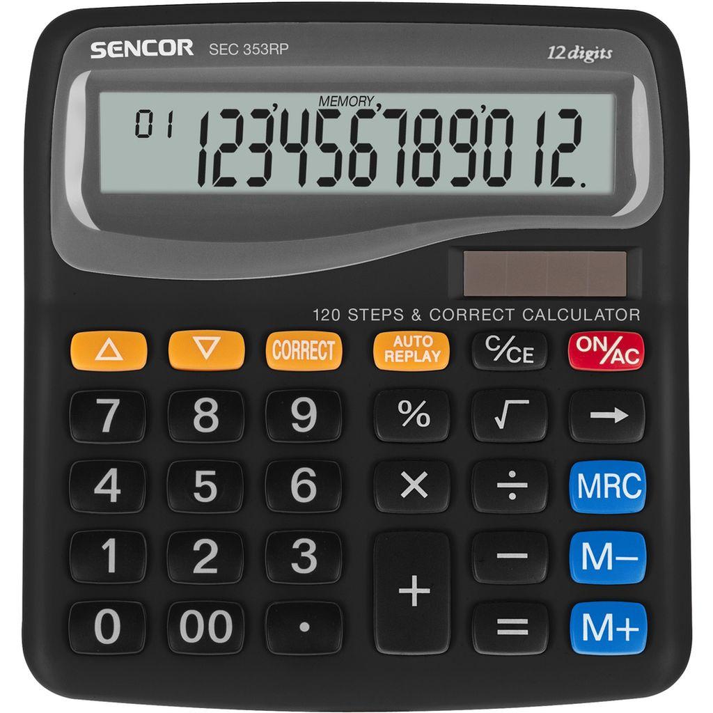 SENCOR SEC 353RP kalkulačka 10002592