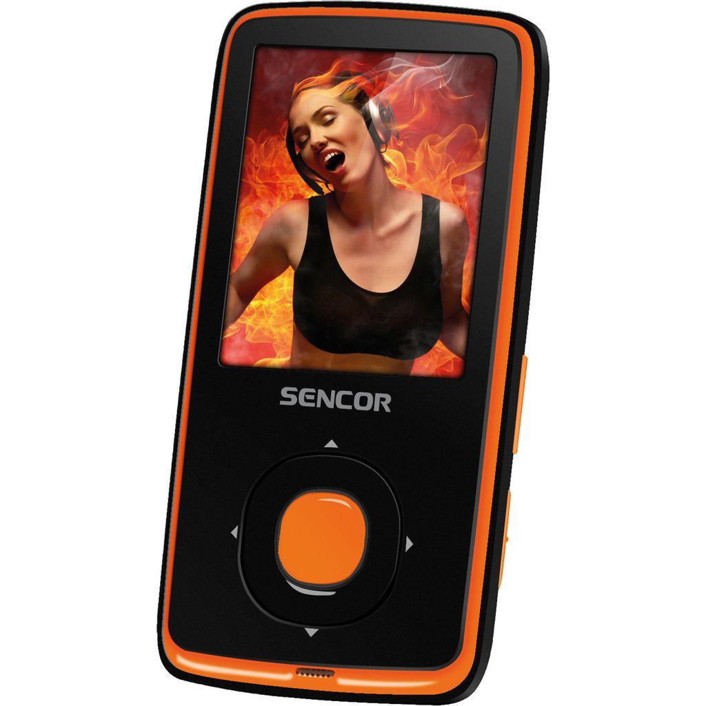 SENCOR SFP 6270 OR 8GB MP3/MP4 přehrávač 35047834