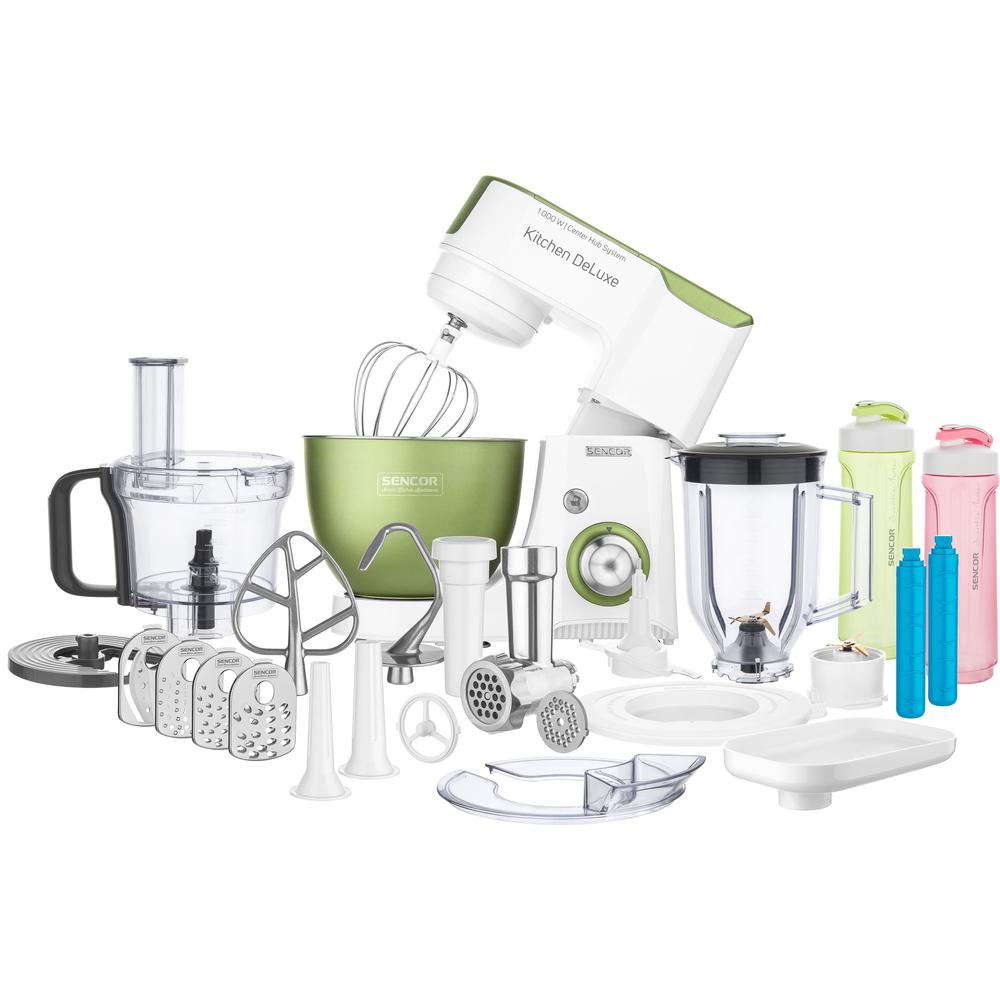 SENCOR STM 4460GG kuchyňský robot zelený 41007920