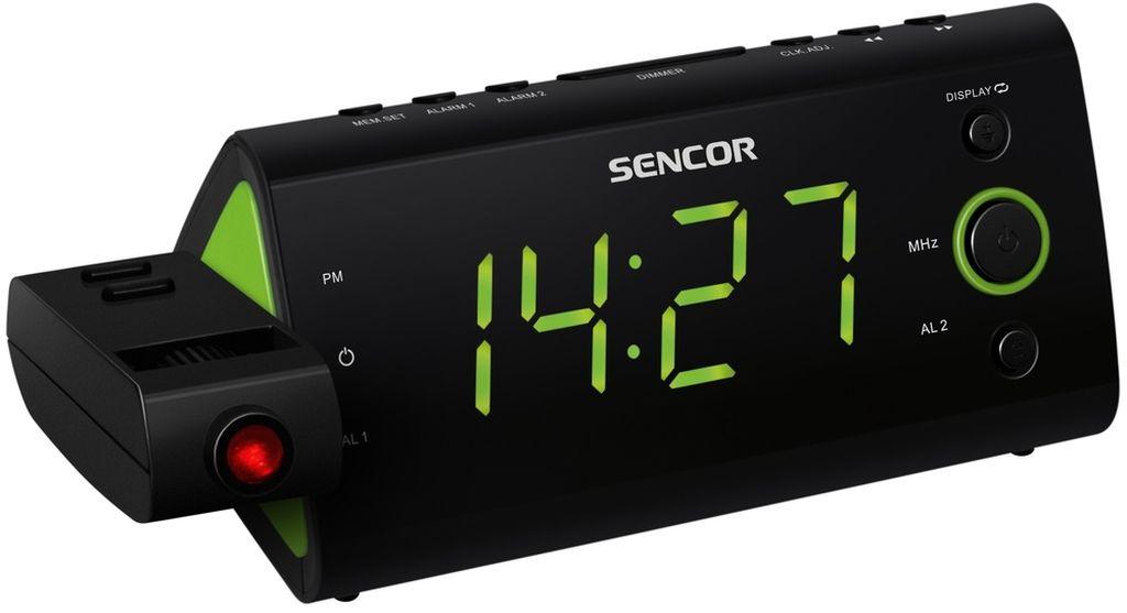 SENCOR SRC 330 GN Radiobudík s projekcí 35039419