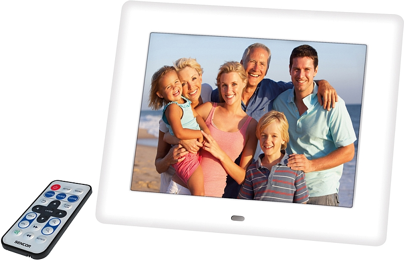SENCOR SDF 871 W Digitální fotorámeček 35039803