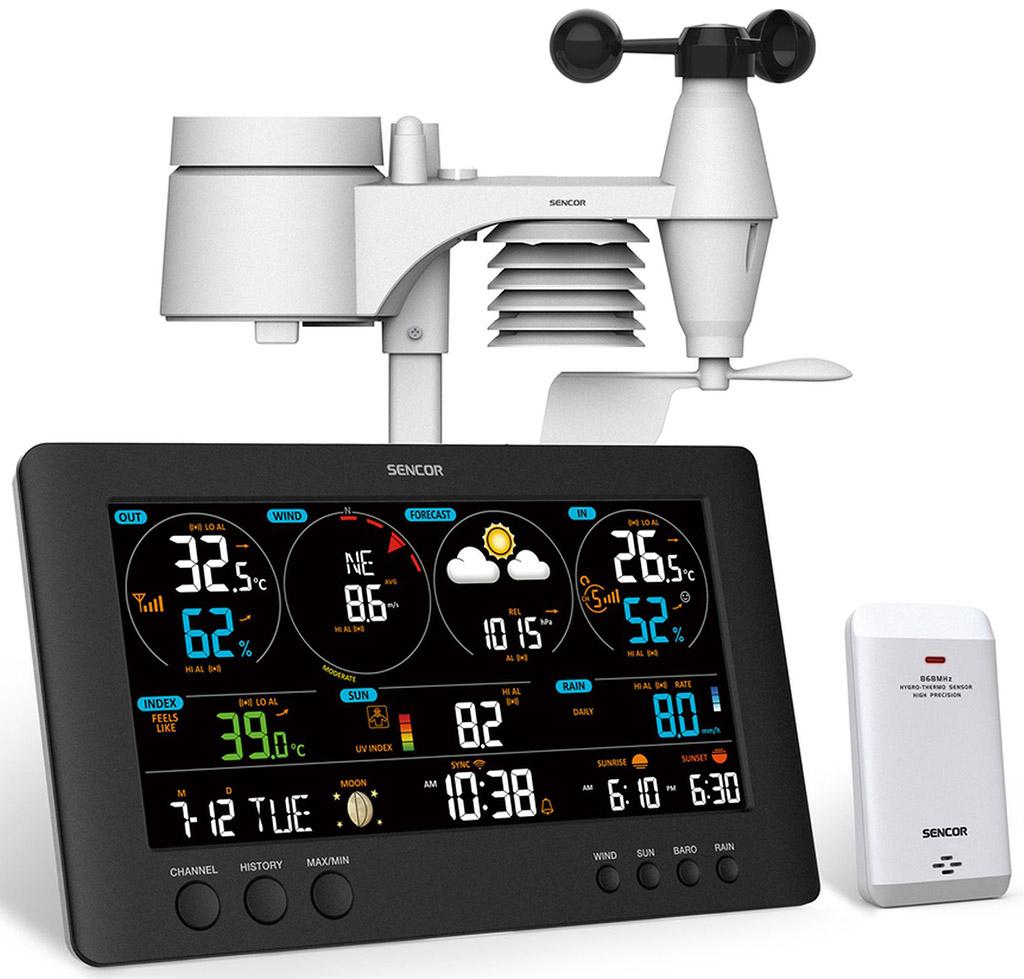 SENCOR SWS 12500 WiFi Meteostanice 35054541