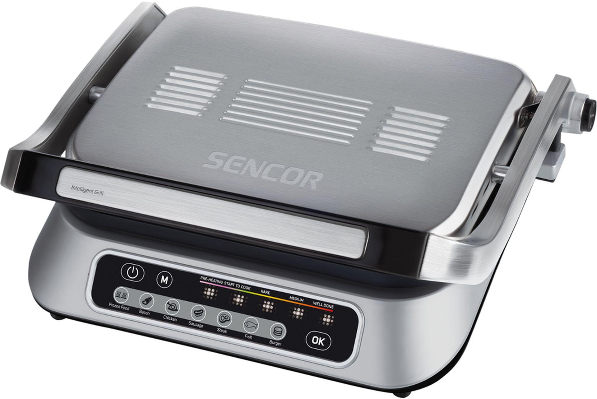 SENCOR SBG 6031SS kontaktní gril 41010151