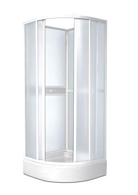 TEIKO SKKH 2/80 R50 sprchový kout čtvrtkruhový pearl V331080N51T22501