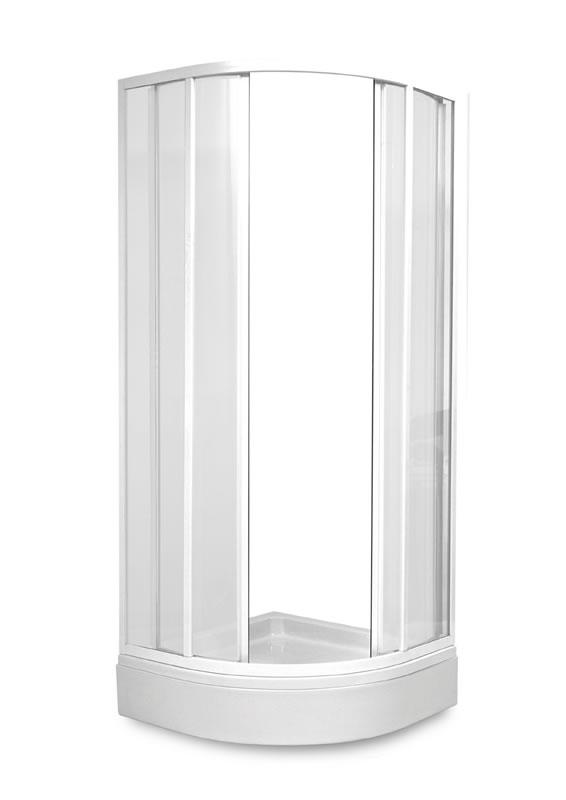 TEIKO SKKH 2/90 R50 sprchový kout čtvrtkruhový pearl V331090N51T22501