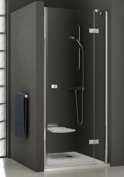 RAVAK SmartLine SMSD2-100 B-R sprchové dveře, chrom+transparent 0SPABA00Z1