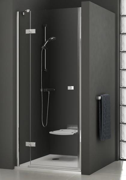 RAVAK SmartLine SMSD2-100 B-L sprchové dveře, chrom+transparent 0SLABA00Z1